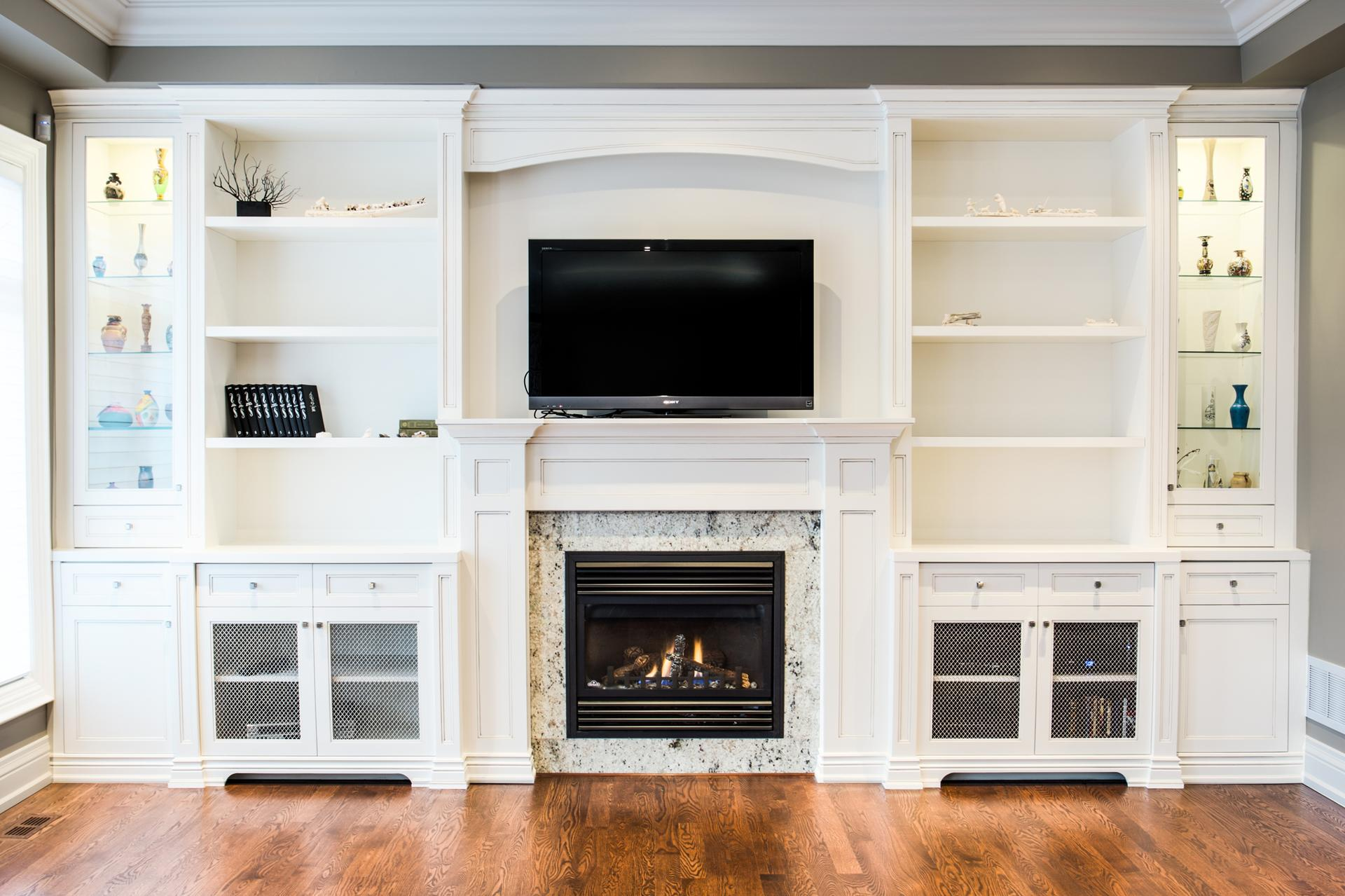 Custom fireplace 5