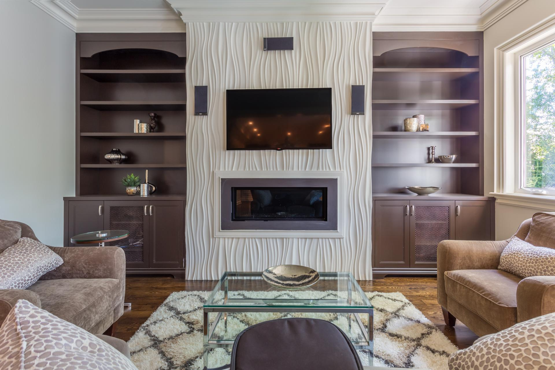 Custom fireplace 8
