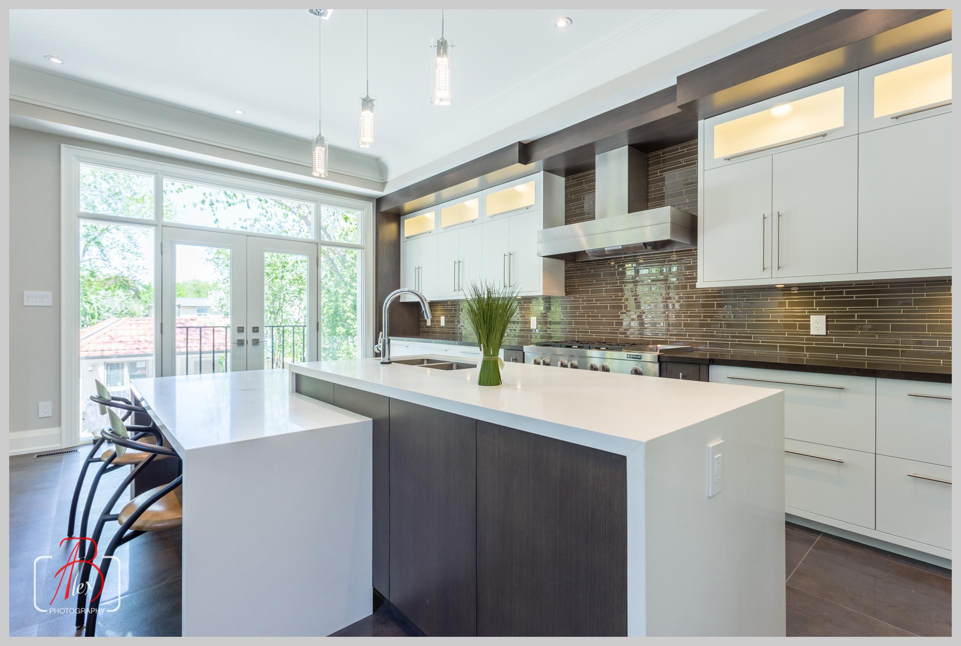 Custom modern kitchen 4