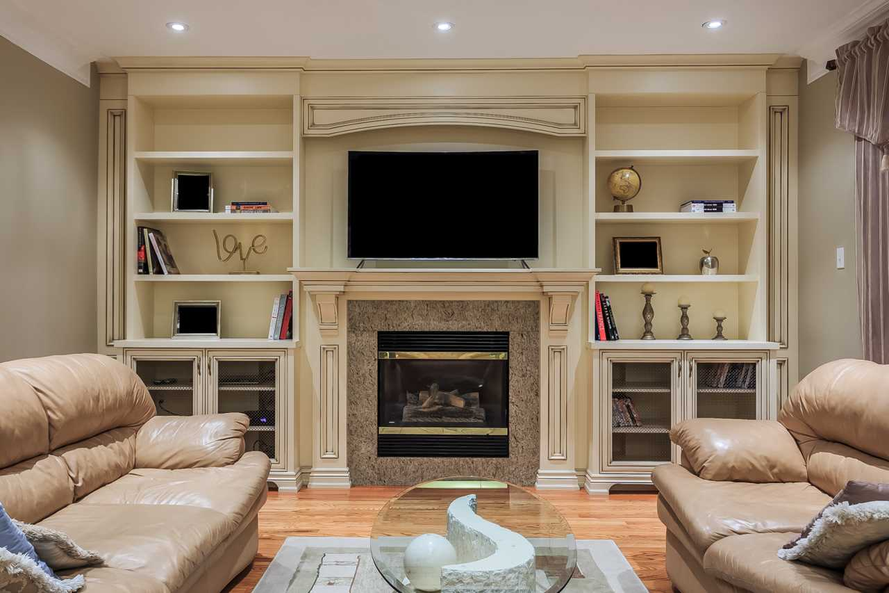 traditional wall unit Fireplace 8